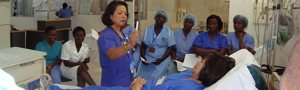 Nursing Education - Health Volunteers Overseas