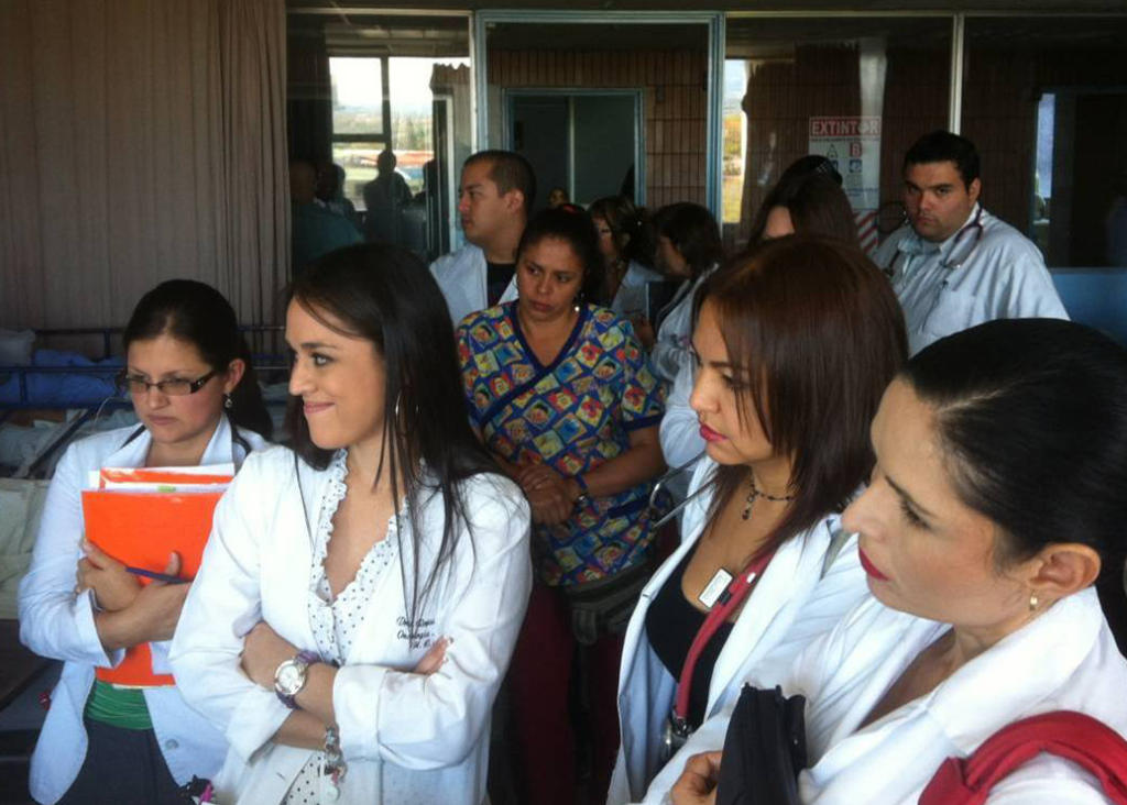 Rounds at Hospital de Mexico in Costa Rica