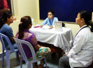 Counseling patients